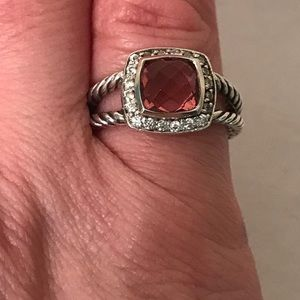 DAVID YURMAN Tourmaline Petite Albion Ring 5.25